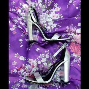 Steve Madden carrson block heels